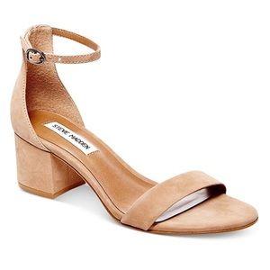 Steve Madden Irene Block-Heel Sandal Tan 8.5